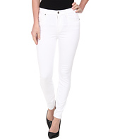 7 For All Mankind - The High Waist Ankle Skinny in White