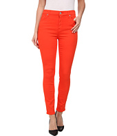 7 For All Mankind - The High Waist Ankle Skinny w/ Contour Waistband in California Poppy
