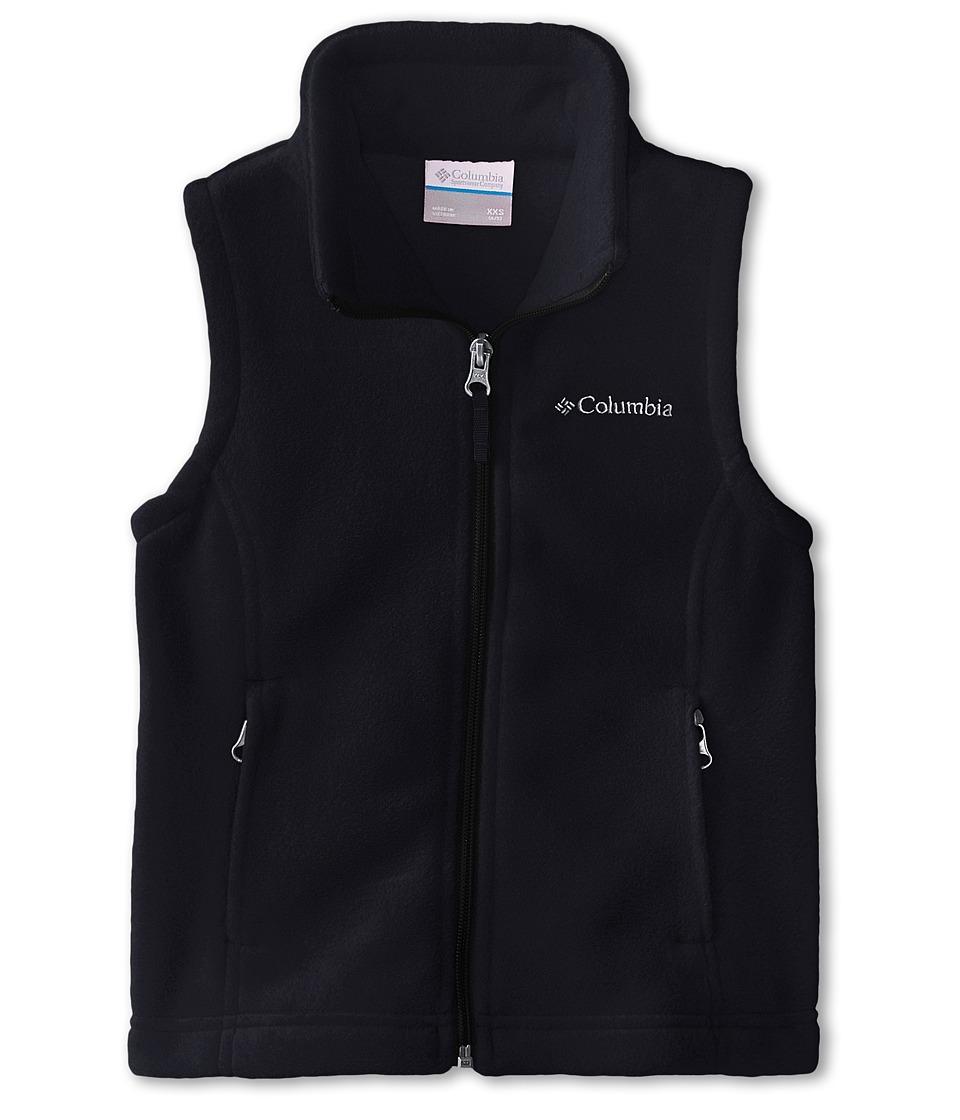 Columbia Kids - Benton Springstm Fleece Vest (Little Kids/Big Kids) (Black) Girls Vest