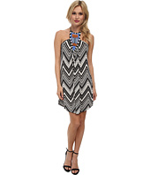 Tbags Los Angeles - Beaded Halter Dress