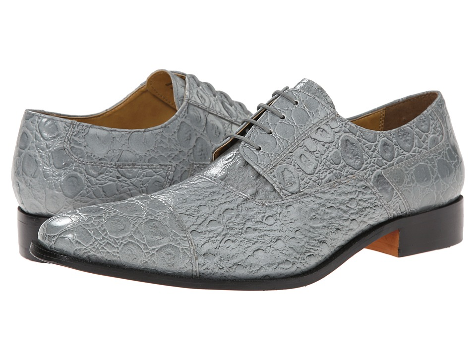 Mens Vintage Style Shoes| Retro Classic Shoes Giorgio Brutini - Hearst Gray Mens Dress Flat Shoes $55.00 AT vintagedancer.com