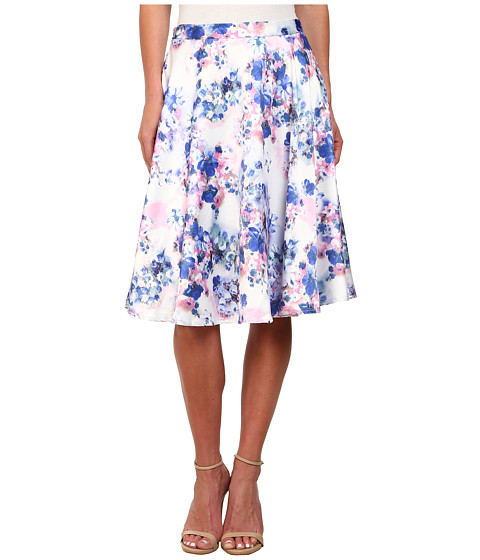 gabriella rocha layla floral a line skirt white floral