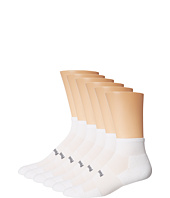 Feetures - High Performance Light Cushion Quarter 6-Pair Pack