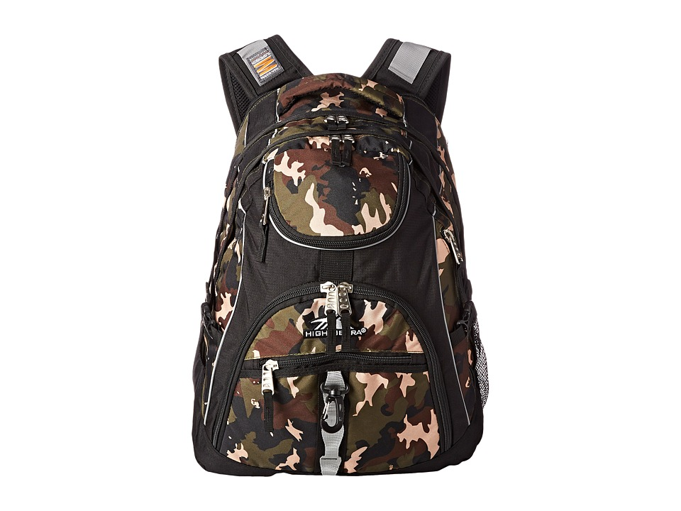 High Sierra - Access Backpack (Whamo Camo/Black) Backpack Bags