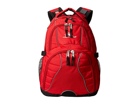 High Sierra Swerve Backpack - Crimson/Black