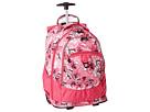 High Sierra Chaser Wheeled Backpack (Summer Bloom/Fuchsia)