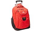 High Sierra Powerglide Wheeled Backpack (Crimson/Black)