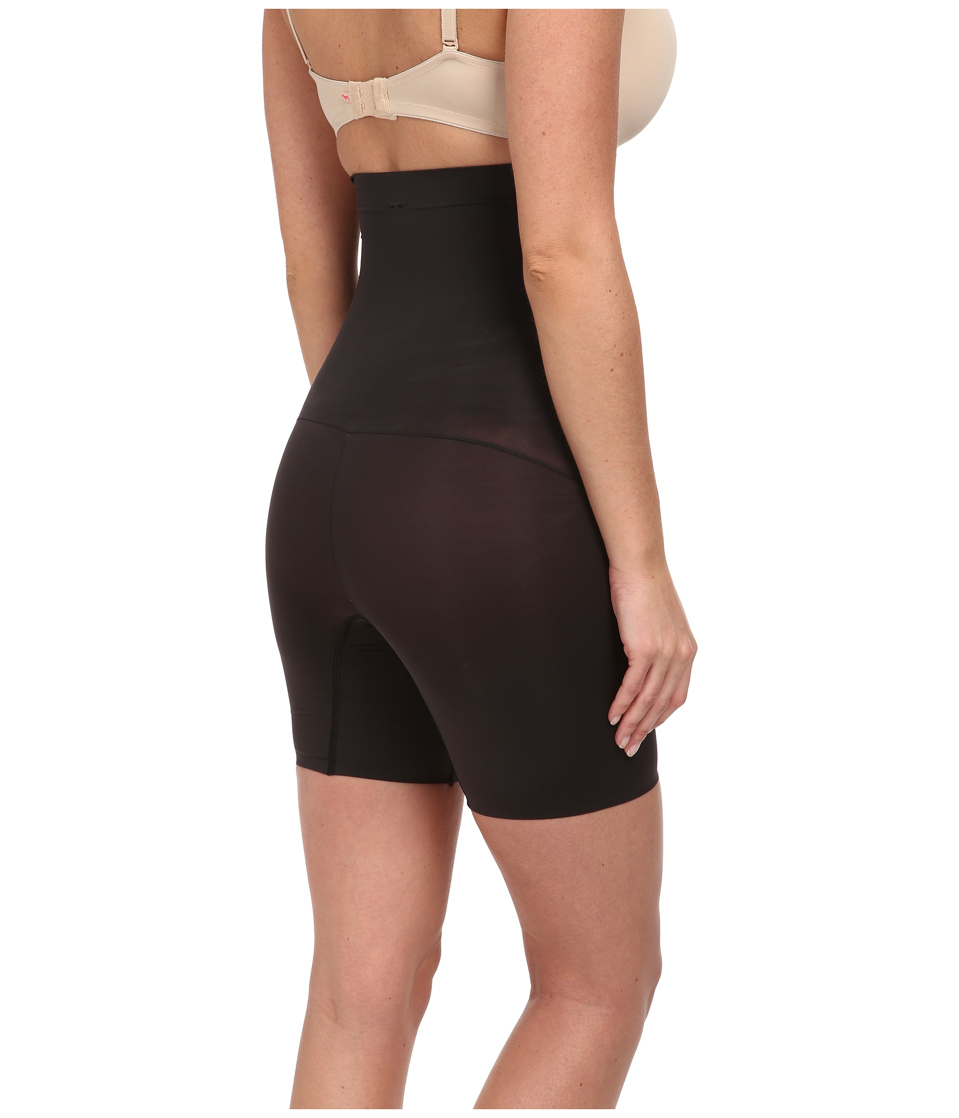 Spanx Shape My Day High Waisted Mid-Thigh at Zappos.com