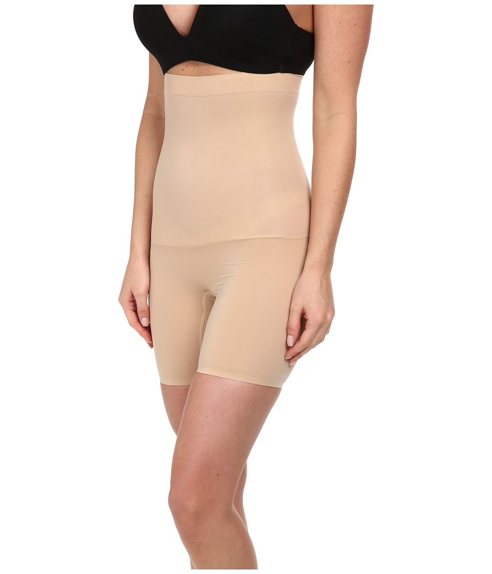 Spanx Shape My Day High Waisted Mid Thigh Natural Womens Underwear