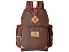High Sierra Warren Backpack (Chocolate/Crimson)
