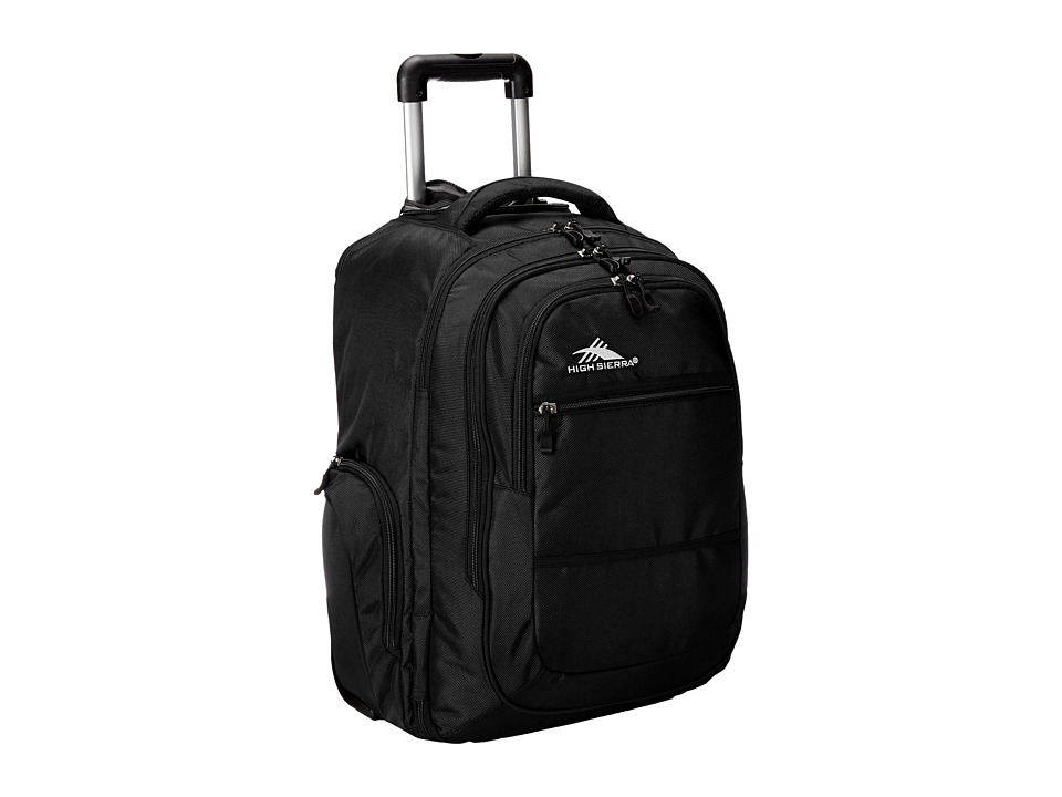 High Sierra - Rev Backpack (Black) Backpack Bags