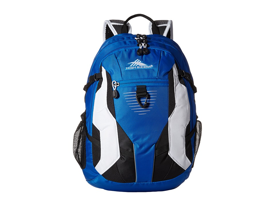 High Sierra Aggro Backpack Vivid Blue/Black/White Backpack Bags