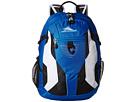 High Sierra Aggro Backpack (Vivid Blue/Black/White)