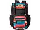 High Sierra Emmett Backpack (Black/Serape)