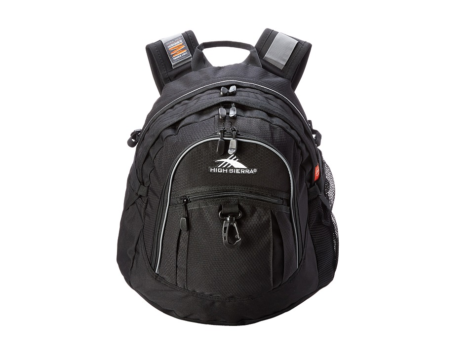 High Sierra - Fat Boy Backpack (Black) Backpack Bags