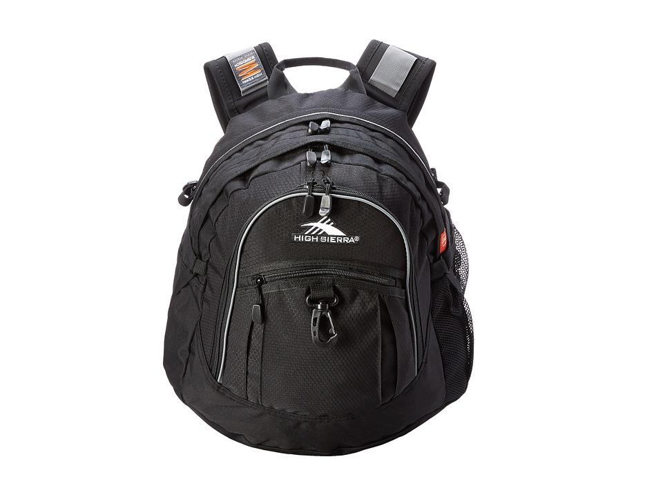 High Sierra - Fat Boy Backpack (Black) Backpack Bags