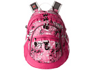 High Sierra Fat Boy Backpack (Summer Bloom/Fuchsia/White)