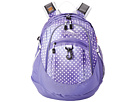 High Sierra Fat Boy Backpack (Sprinkle Dots/Lavender/White)