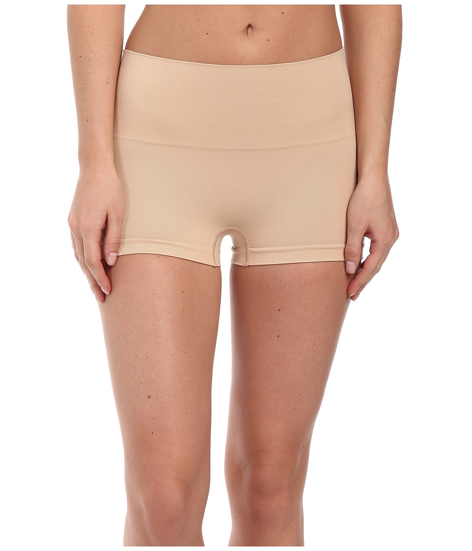 Spanx Everyday Shaping Panties Seamless Boyshort Soft Nude Womens Underwear