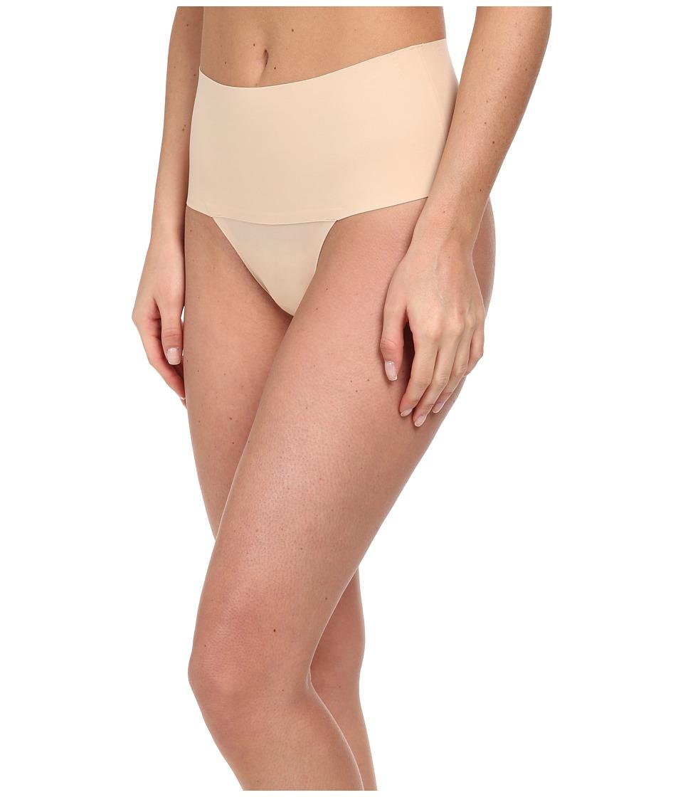Spanx Undie tectable Thong Soft Nude Womens Underwear