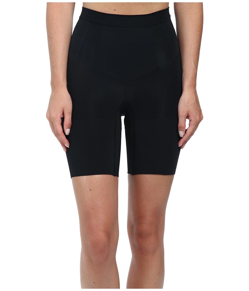 Spanx Oncore Mid Thigh Very Black Womens Underwear