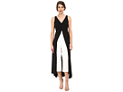 Adrianna Papell Color Blocked Overlay Jumpsuit