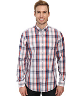 Nautica - Long Sleeve Slub Poplin Plaid