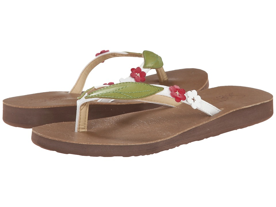 Scott Hawaii Honua White Womens Sandals