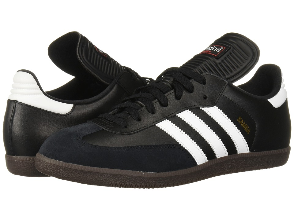 adidas - Samba(r) Classic (Black/White) Mens Soccer Shoes