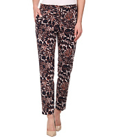 Adrianna Papell - Printed Kate Fit Pants w/ Tabs