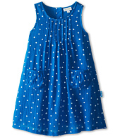 le top - Wildflower Gauze Dot Dress w/ Pin-Tucked Yoke (Toddler/Little Kids)