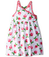 le top - Eat Your Veggies! Radish Cross Front Sundress w/ Radish Back (Toddler/Little Kids)