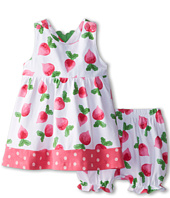le top - Eat Your Veggies! Radish Dress and Bloomer Radish Back (Newborn/Infant)
