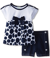 le top - Sail Away! Polka Dot Baby Doll Top and Shorts Bow (Toddler/Little Kids)