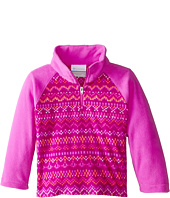 Columbia Kids - Glacial™ II Fleece Print Half Zip (Little Kids/Big Kids)
