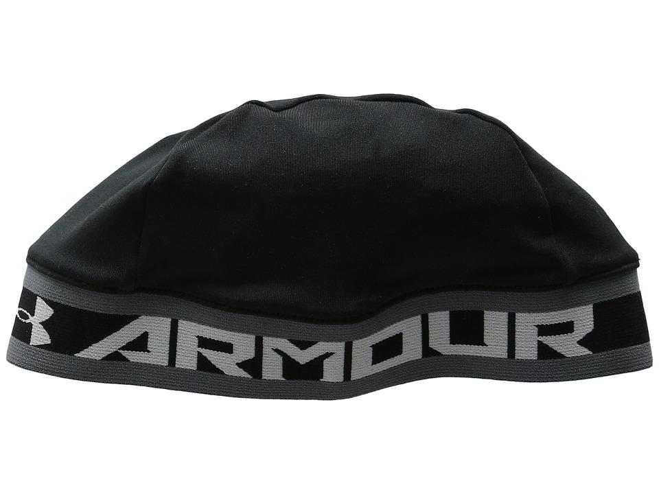 Under Armour - UA Basic Skull Cap (Youth) (Black/Graphite/White) Baseball Caps