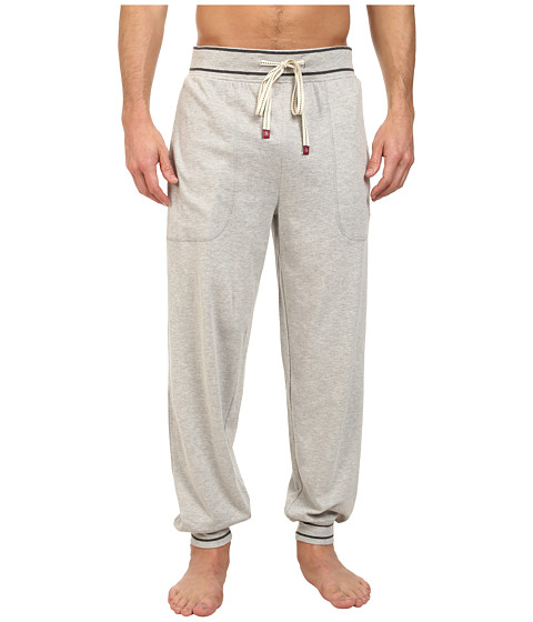 Original Penguin Cuffed French Terry Pant - Light Grey Heather