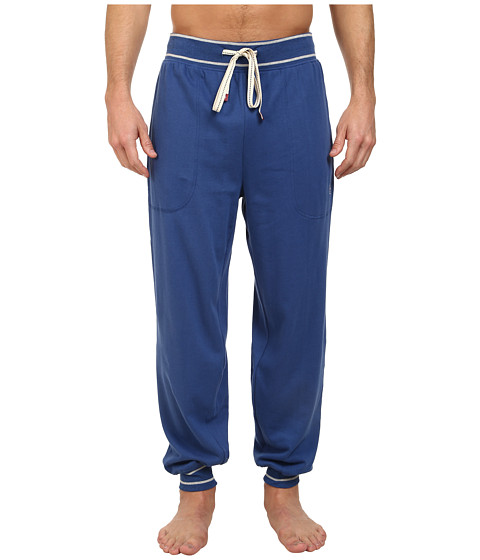 Original Penguin Cuffed French Terry Pant - True Blue