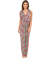 Tbags Los Angeles - Knot Front Maxi Dress