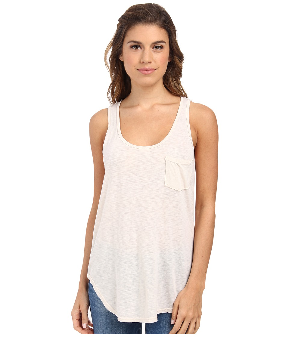 LAmade Boyfriend Tank w/ Pocket Birch Womens Sleeveless