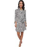 Laundry by Shelli Segal - 3/4 Sleeve Bow Tie Dress