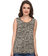 MICHAEL Michael Kors - Petite Banfora Short Sleeve Chain Tank Top
