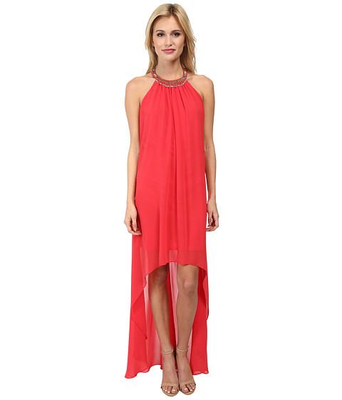 Laundry by Shelli Segal Hi Multi Chiffon Sleeveless Hi-Low Dress