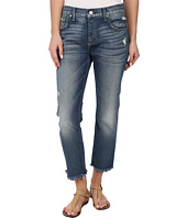 7 For All Mankind - Relaxed Skinny w/ Raw Hem in True Heritage Blue