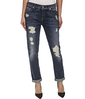 7 For All Mankind - Josefina w/ Destroy in Grinded Vintage Indigo 2