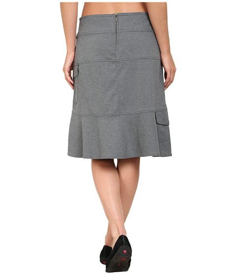 royal robbins herringbone discovery knee length skirt