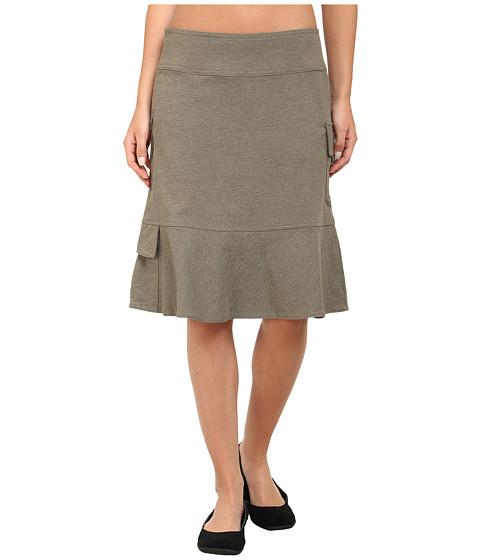 royal robbins herringbone discovery knee length skirt at
