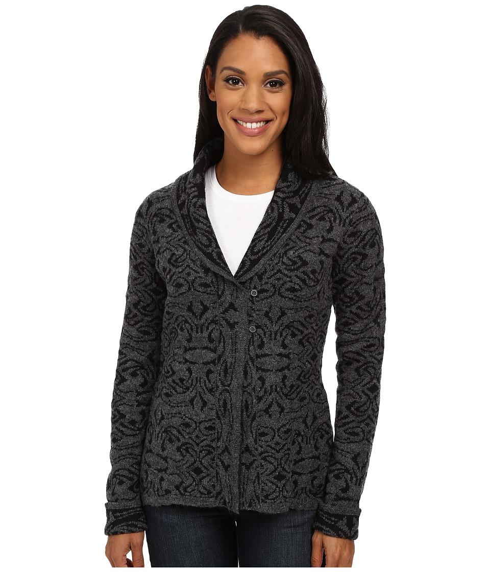 Royal Robbins Autumn Rose Cardigan Jet Black Womens Sweater