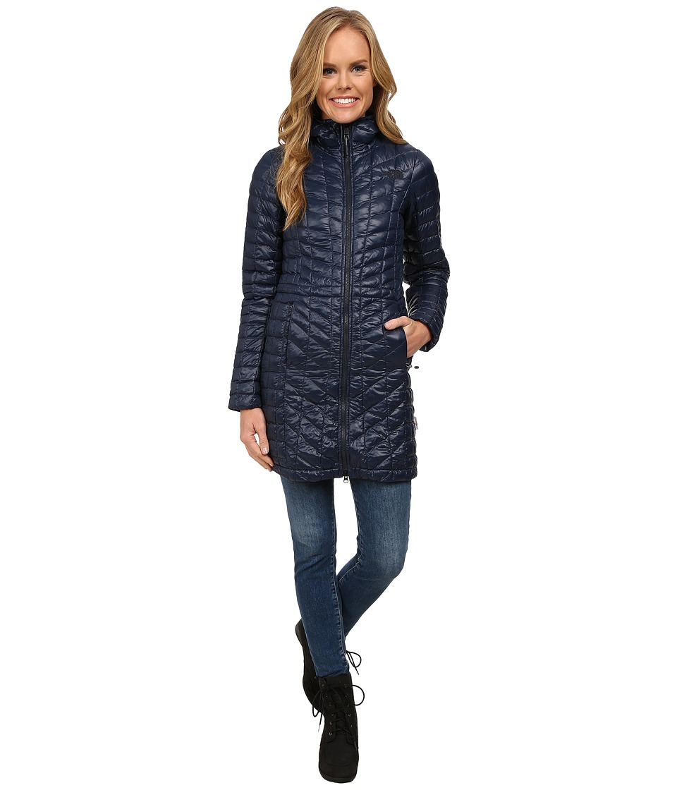The North Face - ThermoBalltm Hooded Parka (Urban Navy (Prior Season)) Womens Coat