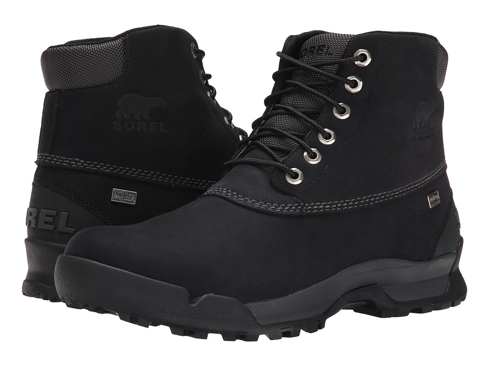 SOREL - Paxson 6 Outdry (Black/Shark) Men